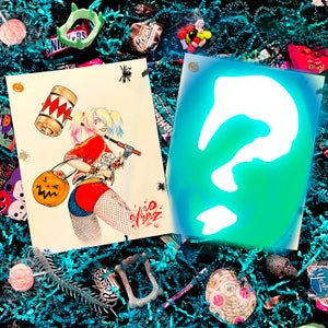 """Image of Halloween """"Trick or Treating Harley Quinn"""" Mystery Box"""