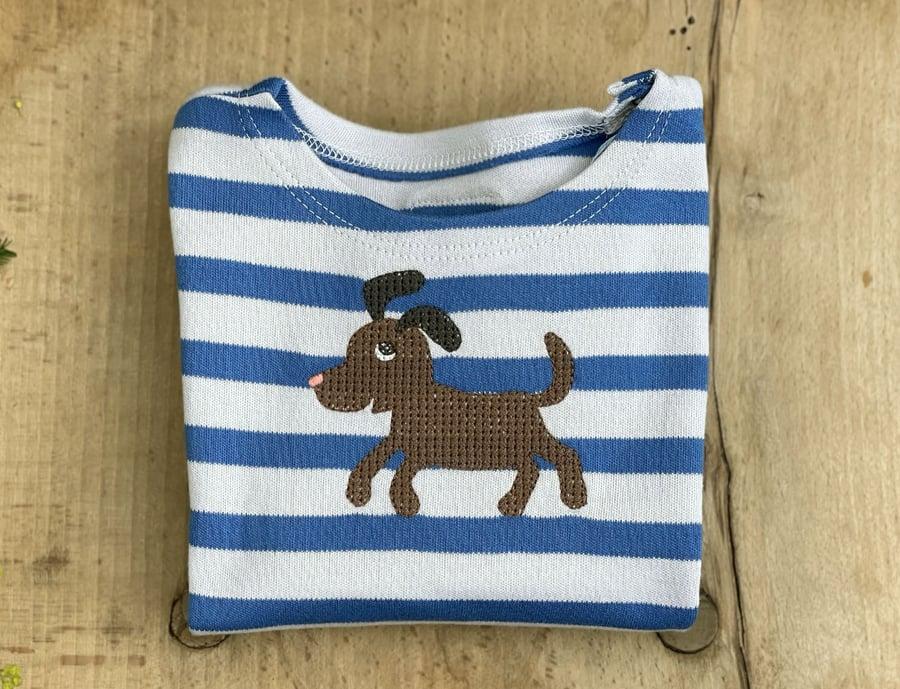 Image of NEU Shirt mit Hund Art.281276/381276