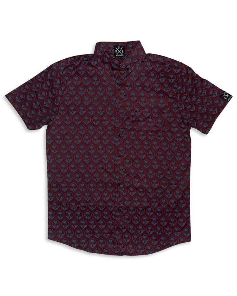 Image of GUAM SEAL BUTTON UP