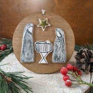 Image of Nativity Decoration (hanging)