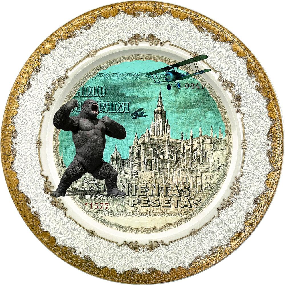 Image of Kingnientas - Fine China Plate - #0789