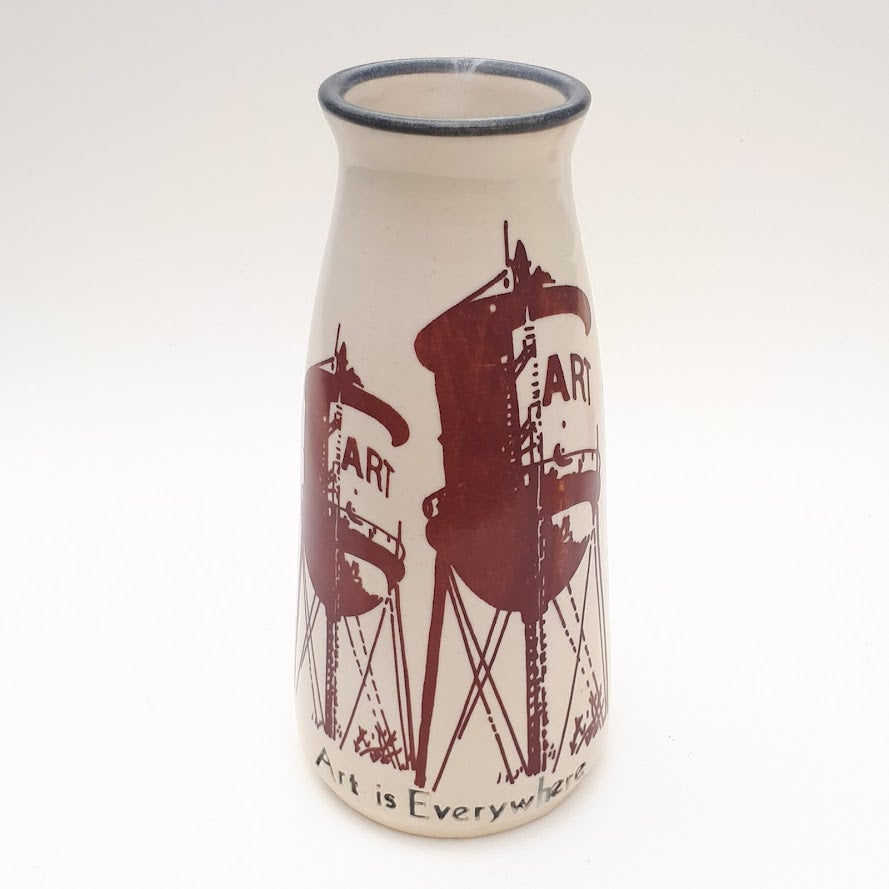 Image of Art Is Everywhere Vase by Bunny Safari