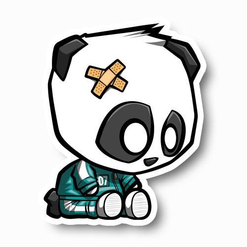 Image of Panda Game Contestant Sticker