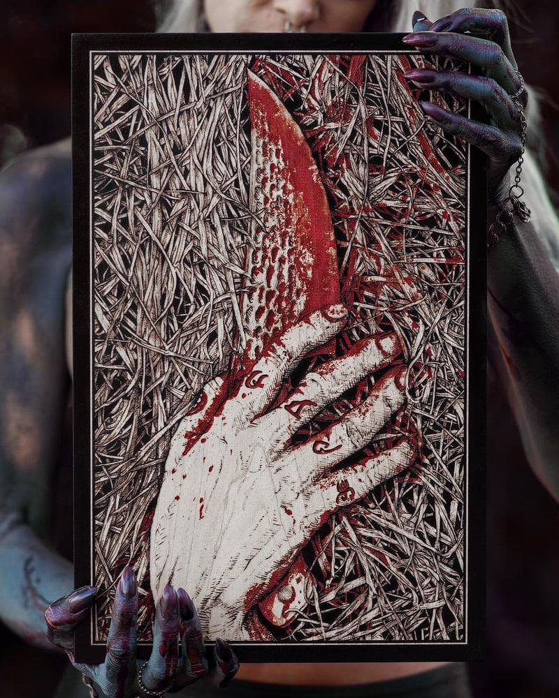 Image of The Satanic Panic! XL Engraving - Edition of 20