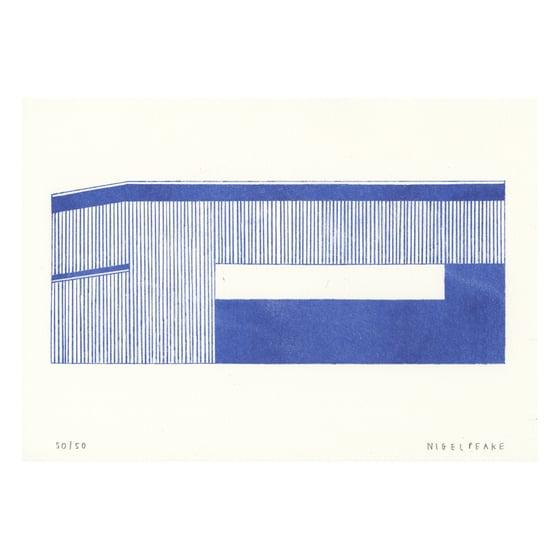 Image of Barn (Blue i)