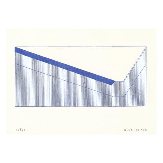 Image of Barn (Blue ii)