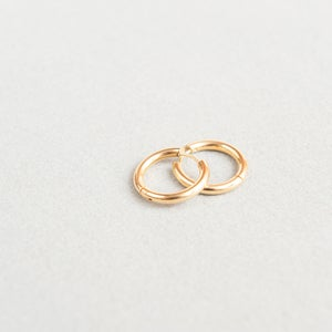 Image of Chunky gold hoops