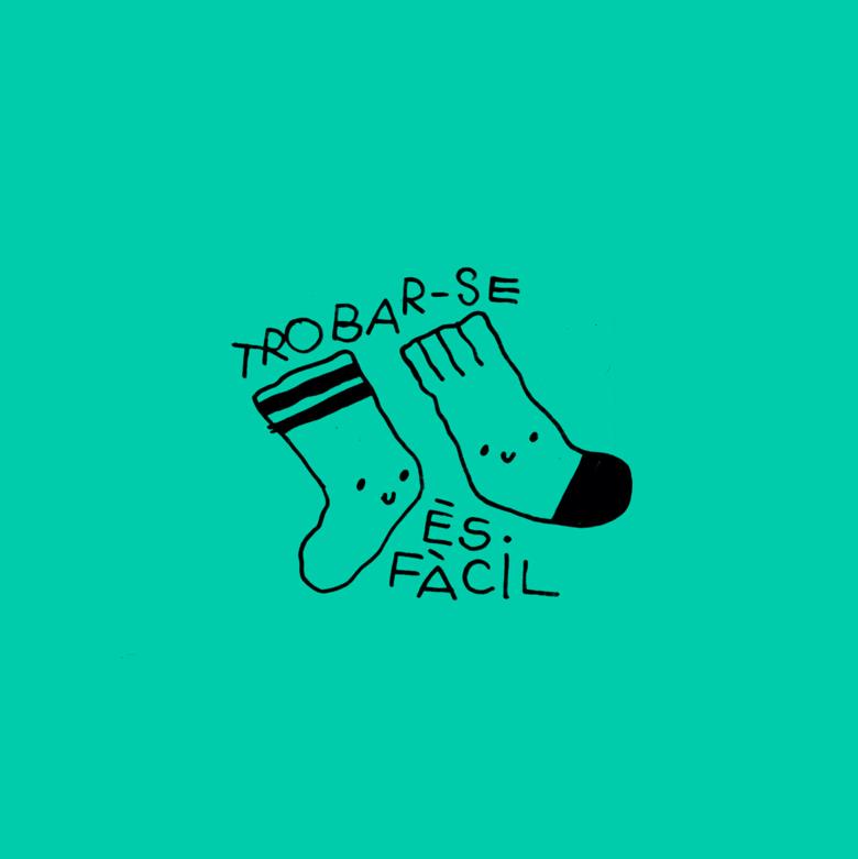Image of 🧦TROBAR-SE ÉS FÀCIL 🧦