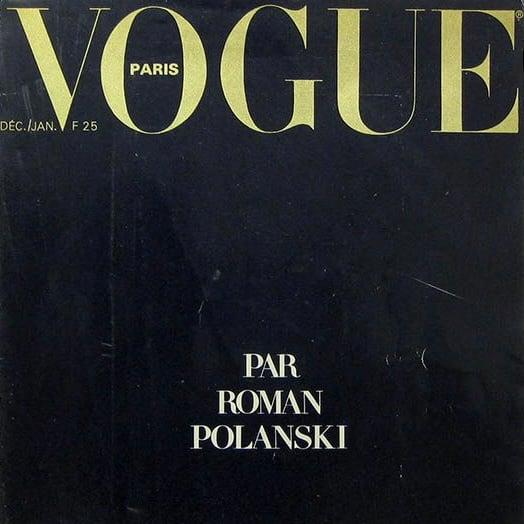 Image of (Vogue Paris) (Par Roman Polanski)