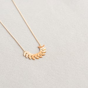 Image of Short moon necklace