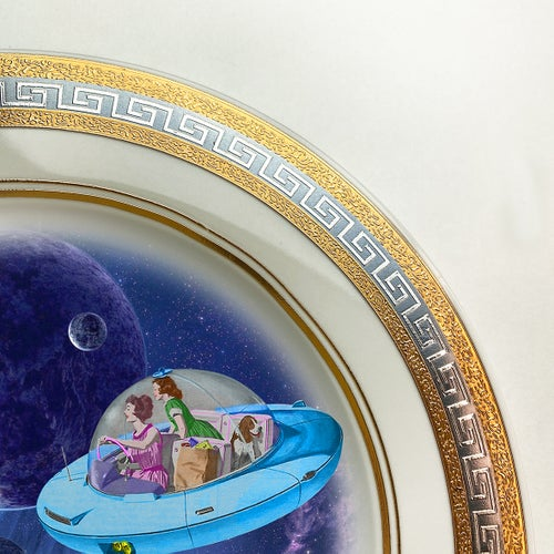 Image of Coming Home - Fine China Plate - #0741