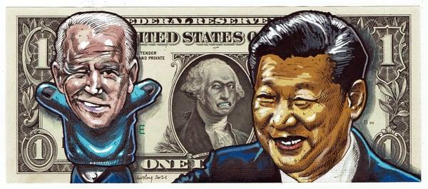 Image of Real Dollar Original. Commie Joe.