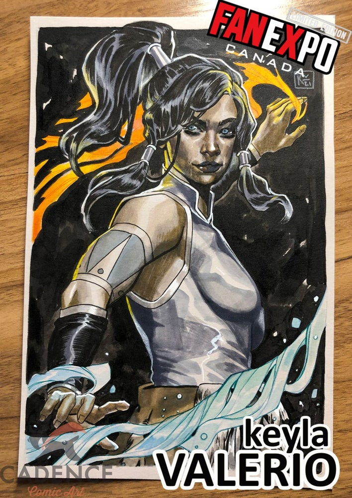 Image of Keyla Valerio 6x9 Commission List (Fan Expo Toronto/ Mail Order) Opens Monday 10/18 at 2PM EST