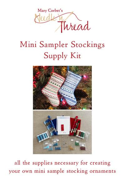 Image of Supply Kit for Mini Sampler Stockings