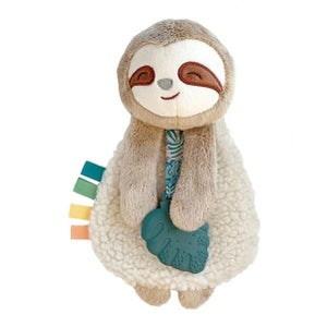 Image of SLOTH Itzy Lovey Plush & Teether Toy