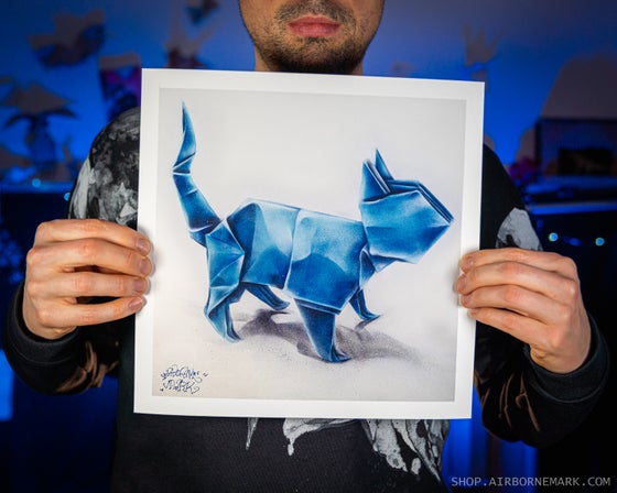 Image of The Cat Glicee Print