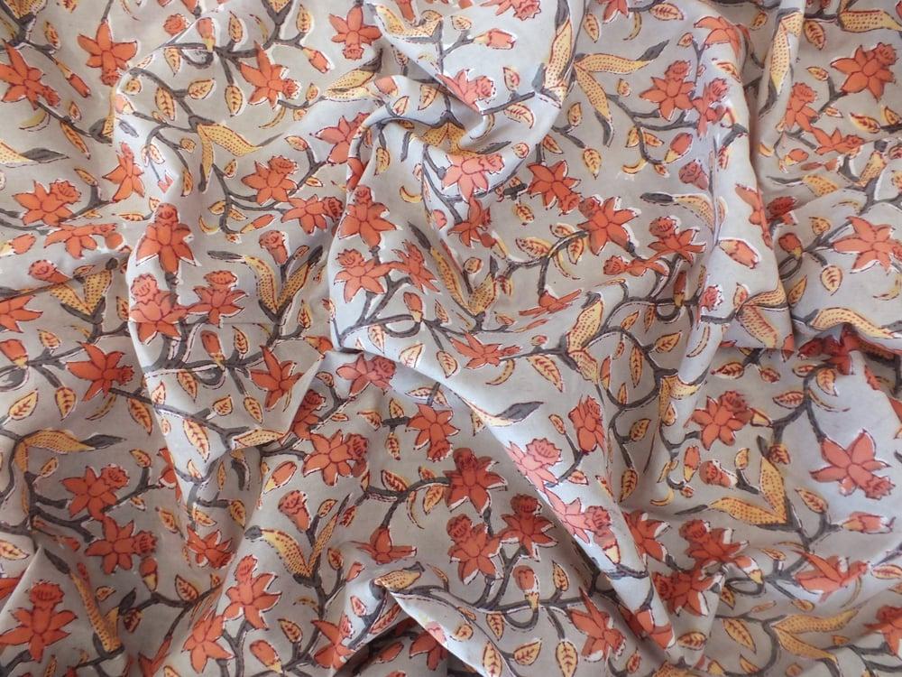 Image of Namasté fabric joncquilles d'automne