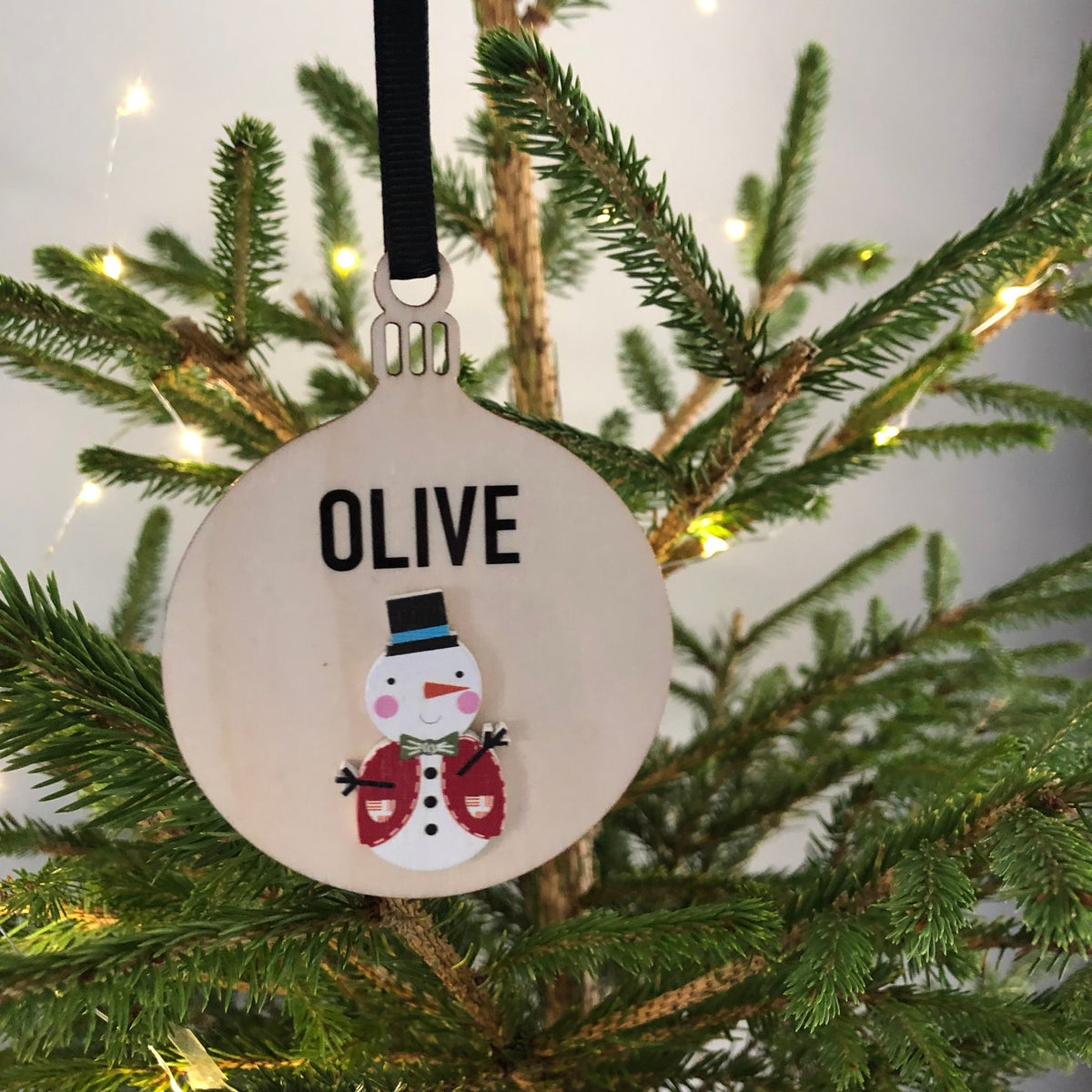 Image of Snowman Bauble