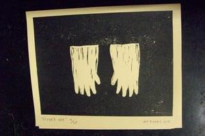Image of 'gloves off '