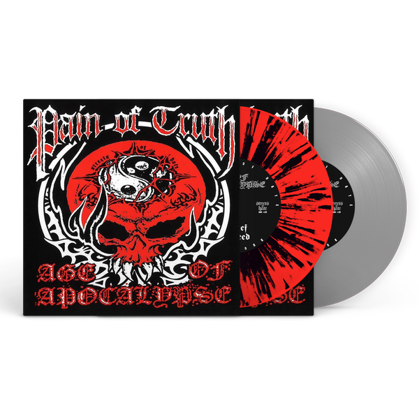"""Image of Pain Of Truth/Age Of Apocalypse Split 7"""" EP (SECOND PRESSING)"""