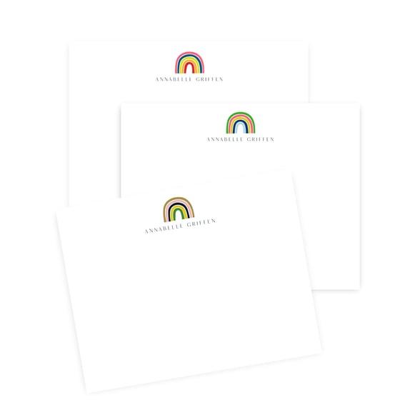 Image of Rainbow Notecards
