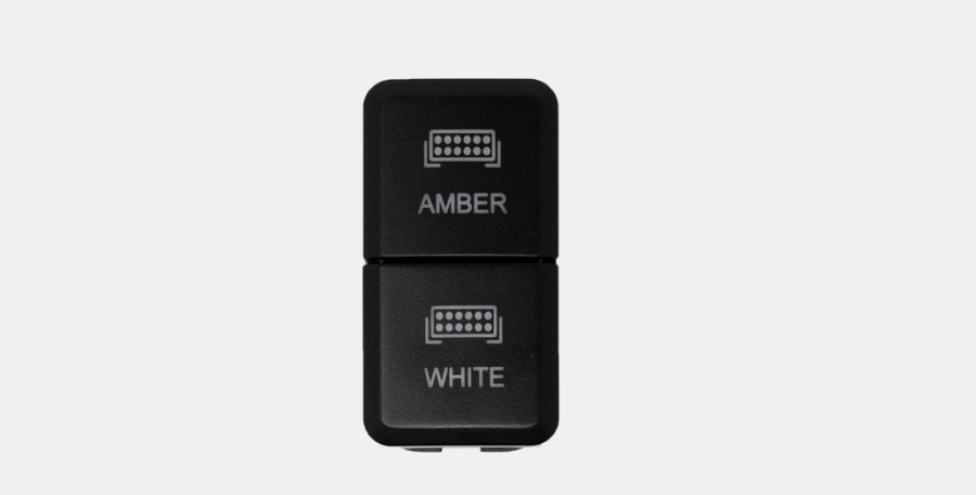 """Image of DUAL FUNCTION TOYOTA OEM STYLE """"AMBER & WHITE"""" SWITCH TALL STYLE"""