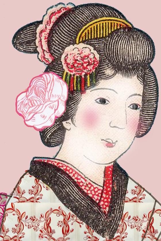 Image of Blushing Geisha