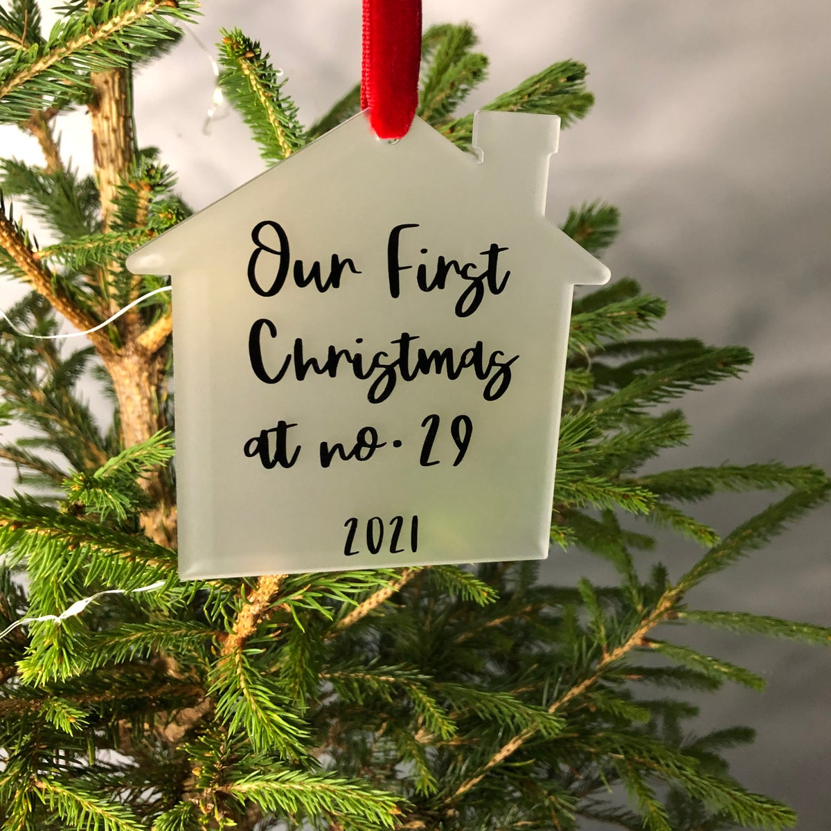 Image of First Home Acrylic Christmas Decoration