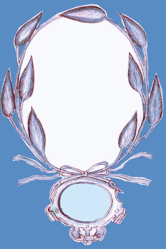 Image of Blue Cartouche