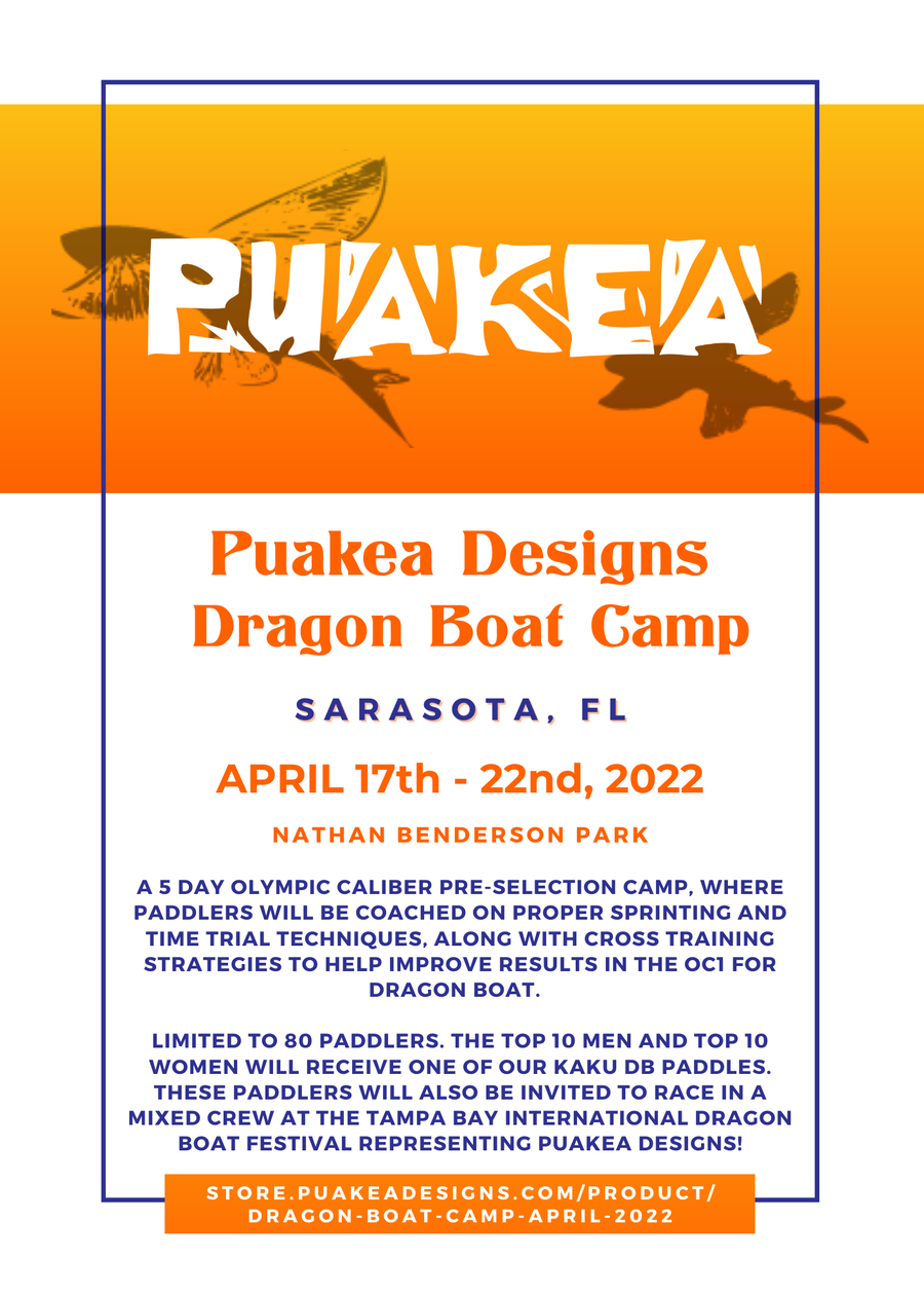 Image of Dragon Boat Camp - April 2022