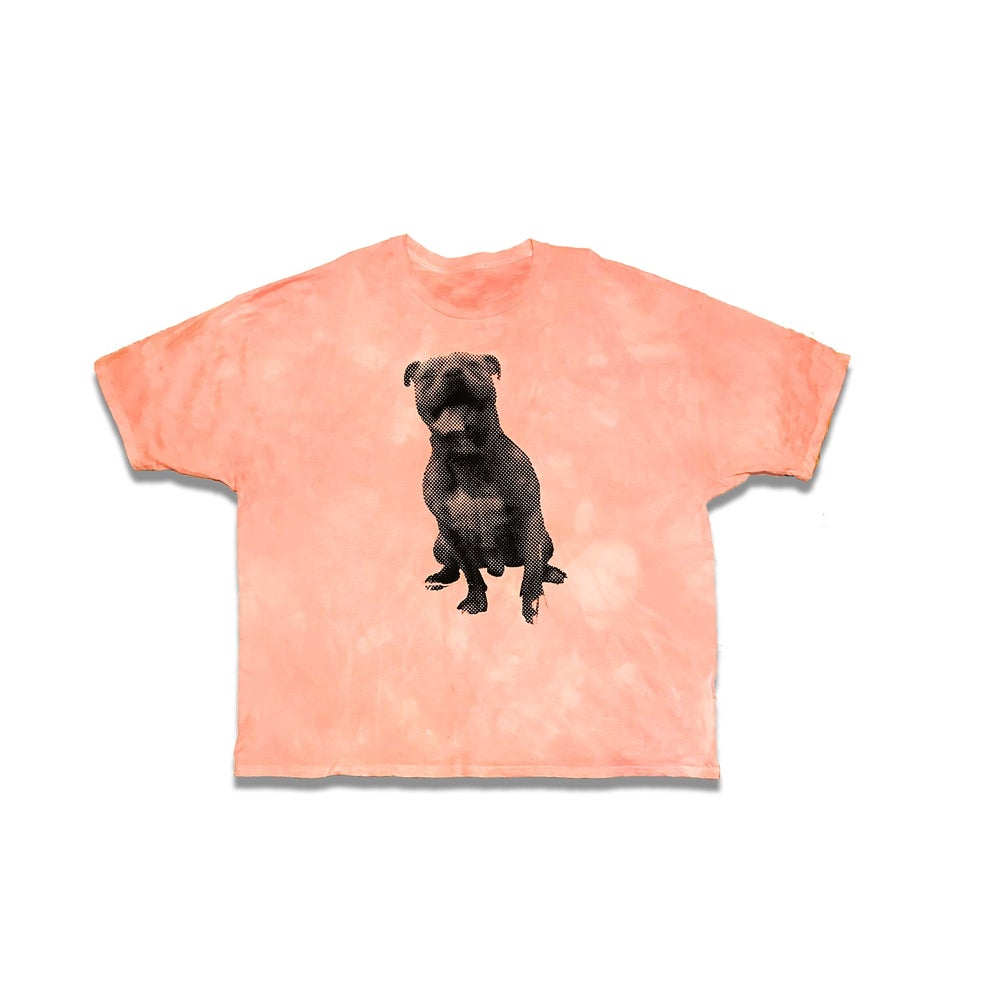 Image of big pup s/s (pink)