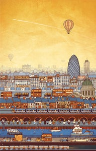 Image of A View of London