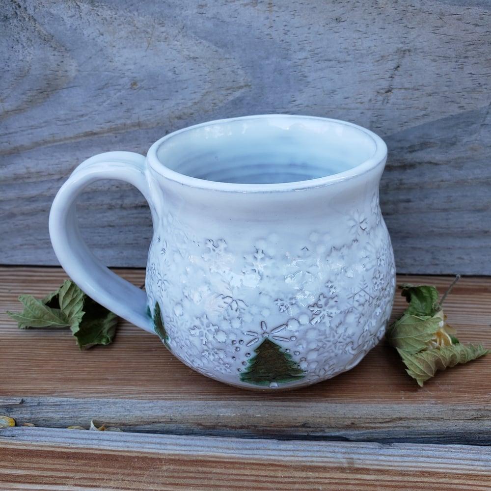 Image of Winter Wonderland Snow Globe Mug #2 10/21