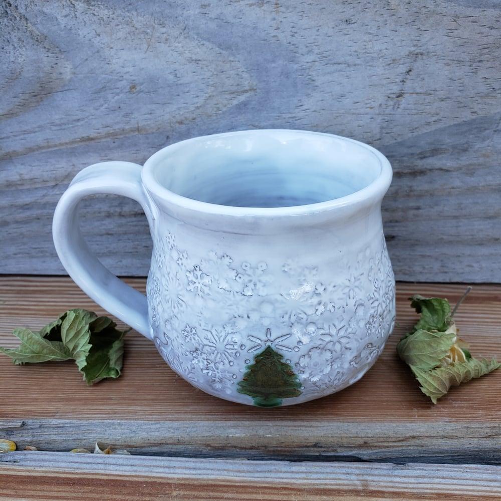 Image of Winter Wonderland Snow Globe Mug #3 10/21