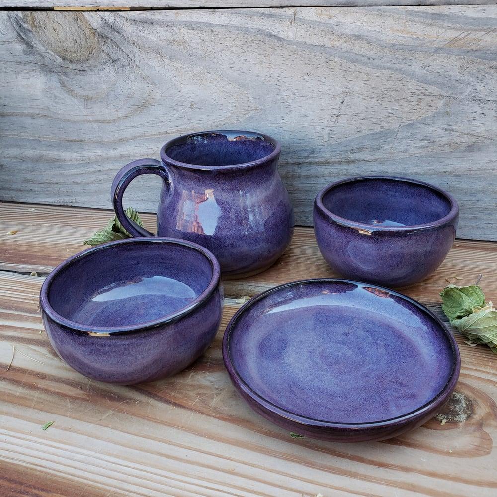Image of Me Time 4-piece set: Huckleberry (Purple) 10/21