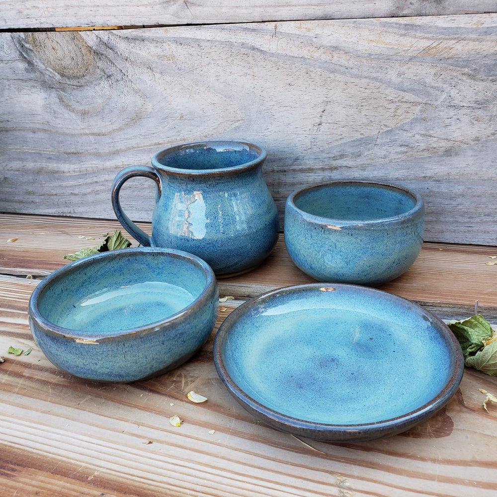 Image of Me Time 4-piece set: Glacial Waters ( Turquoise) 10/21