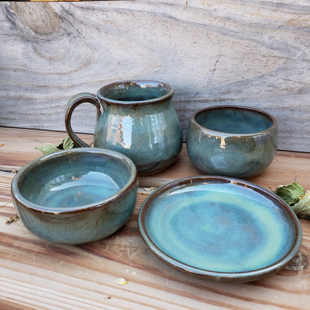 Image of Me Time 4-piece set: Avalanche Gorge (Green) 10/21