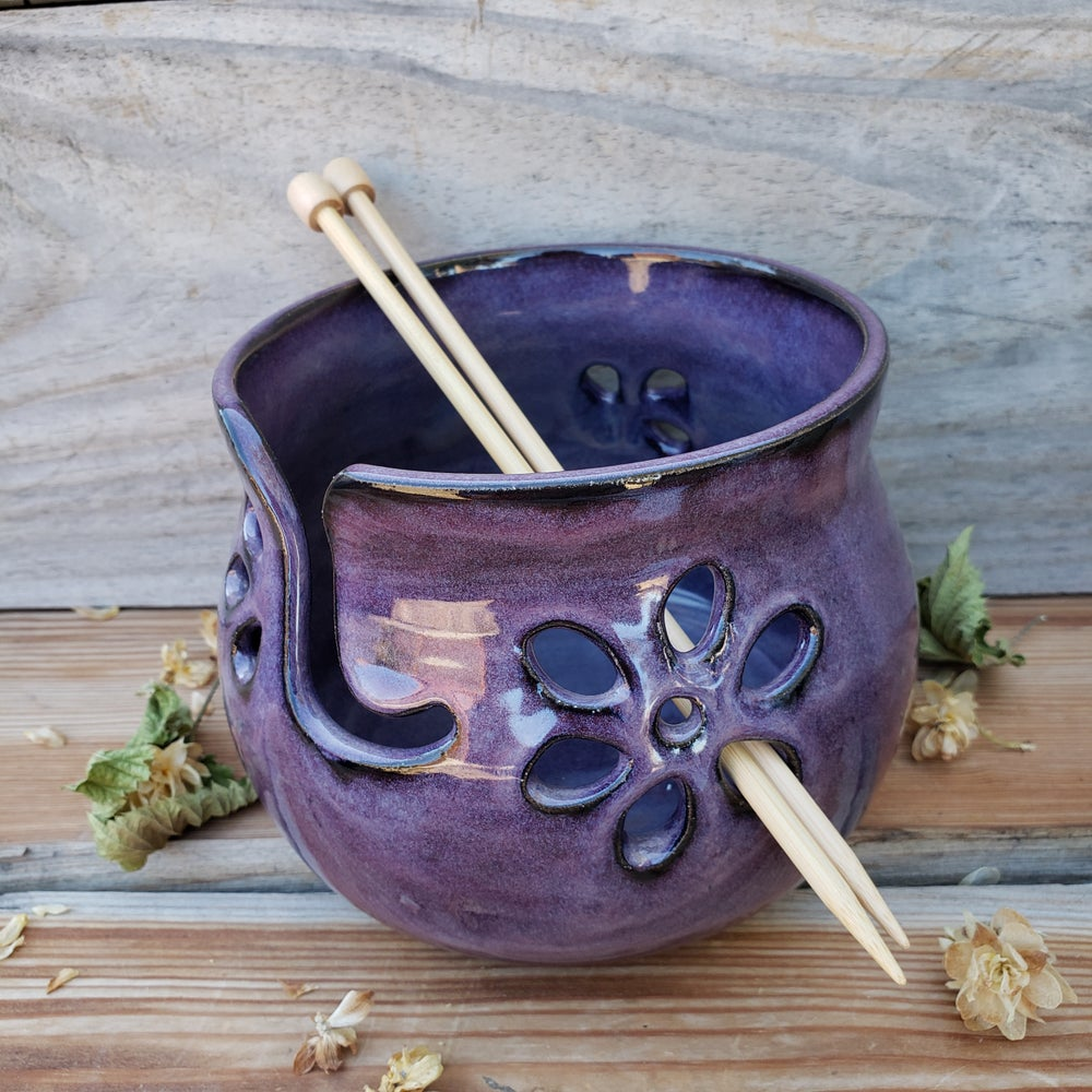 Image of Yarn Bowl for Your Wool: Huckleberry (Purple) 10/21