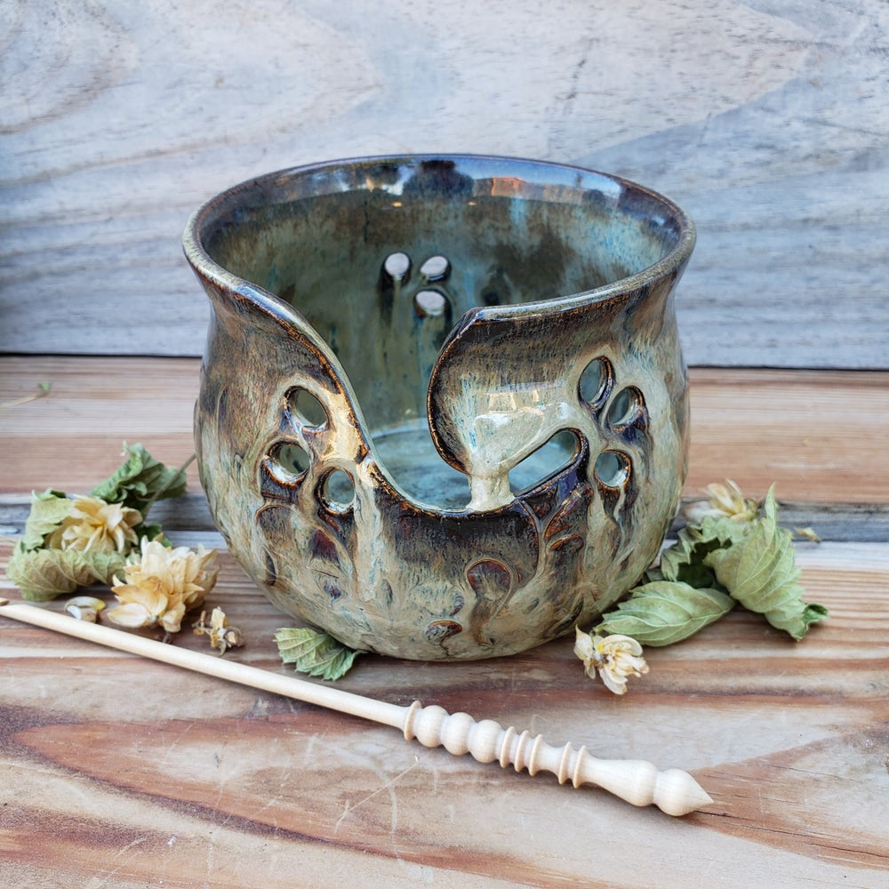 Image of Small Yarn Bowl for Your Wool - Ponderosa Pine 10/21