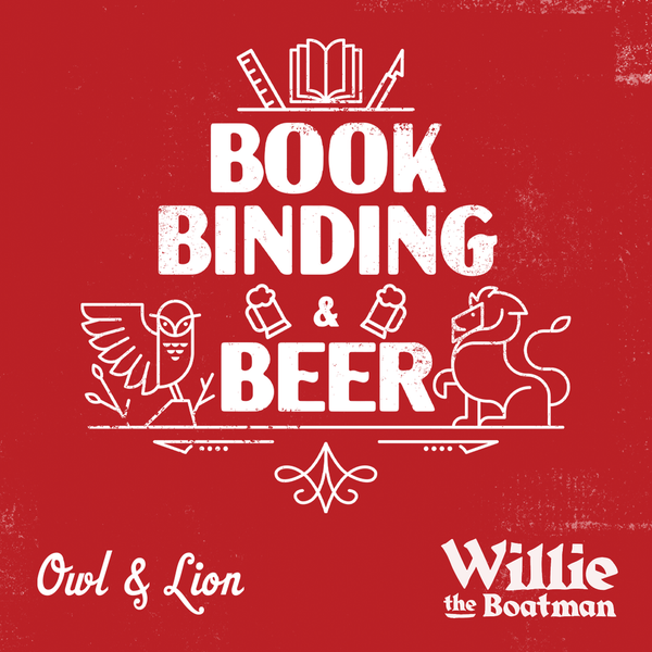 Image of Bookbinding & Beer: Personalise Your Own Photo Album - Online - 18th November (7 - 8.30pm)