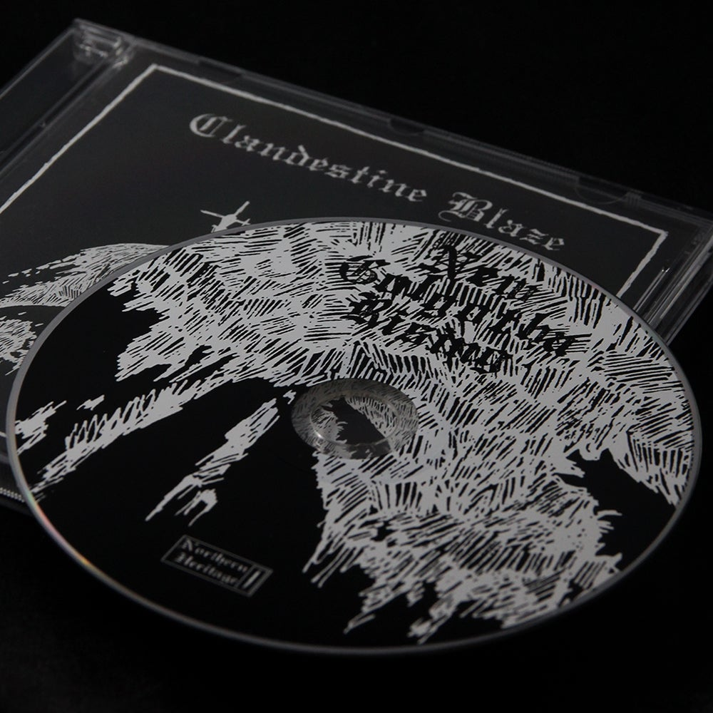 "Clandestine Blaze ""New Golgotha Rising"" CD"