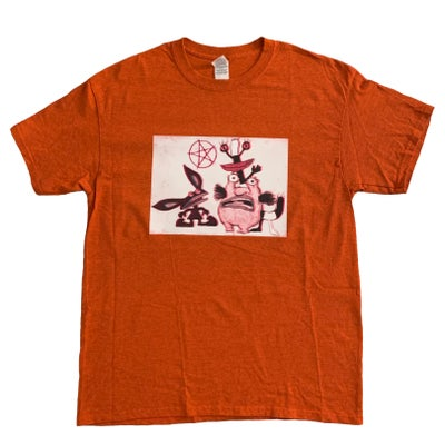 Image of real monsters tee