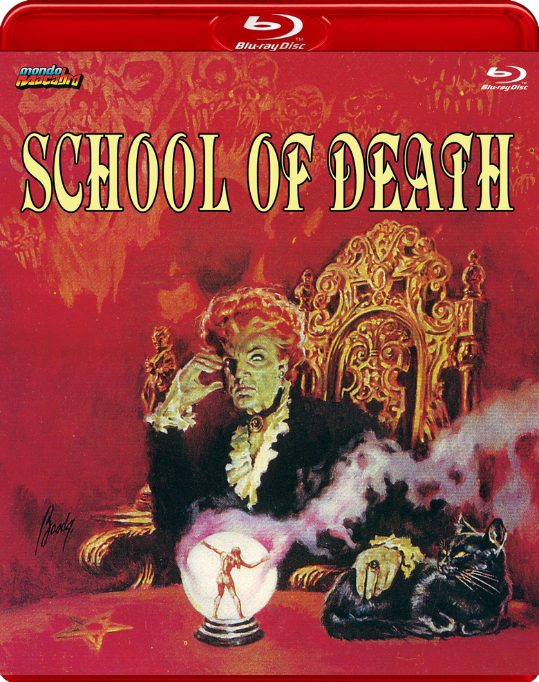 Image of SCHOOL OF DEATH - Limited Red Case Edition