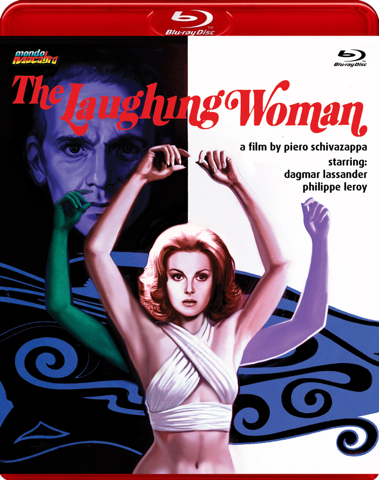 Image of THE LAUGHING WOMAN - Limited Red Case Edition