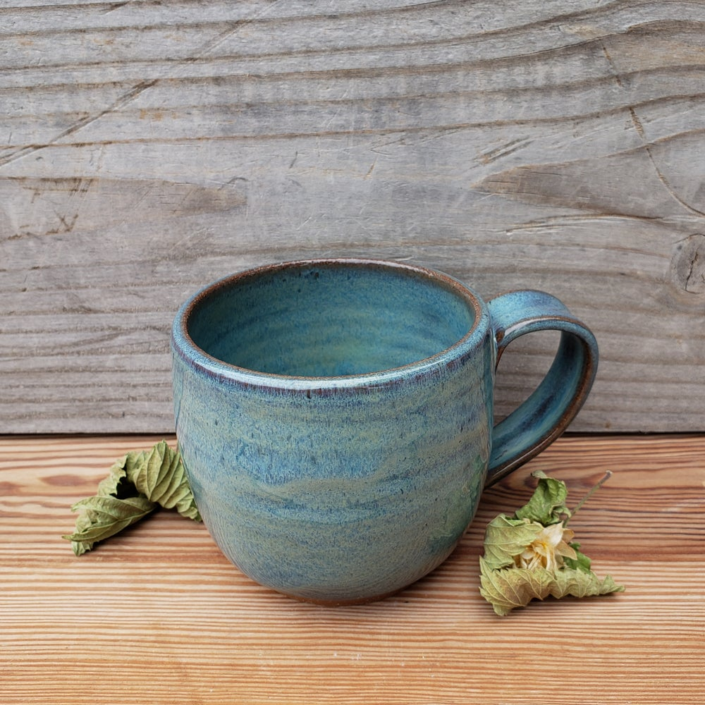 Image of Everyday Brew Mug: Glacial Waters (Turquoise) 10/21