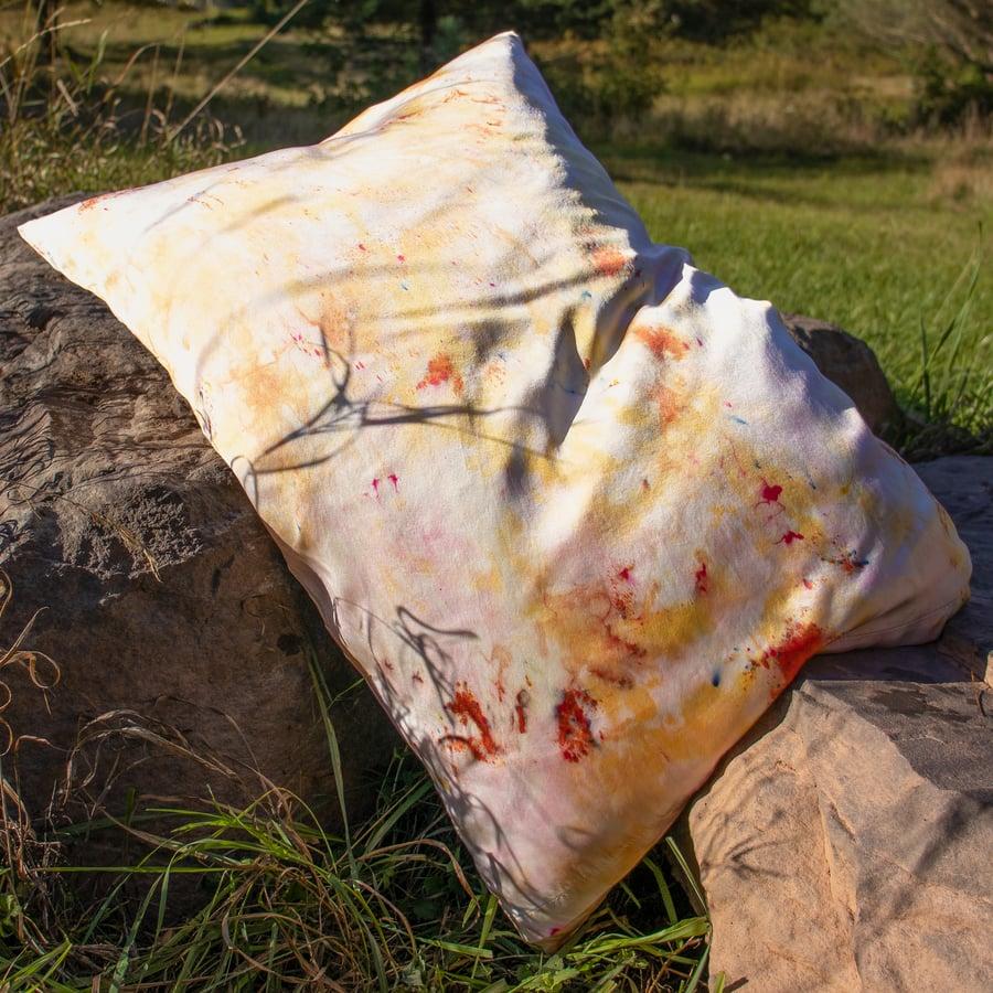 Image of Vega Sunset Silk Pillowcase by Kria