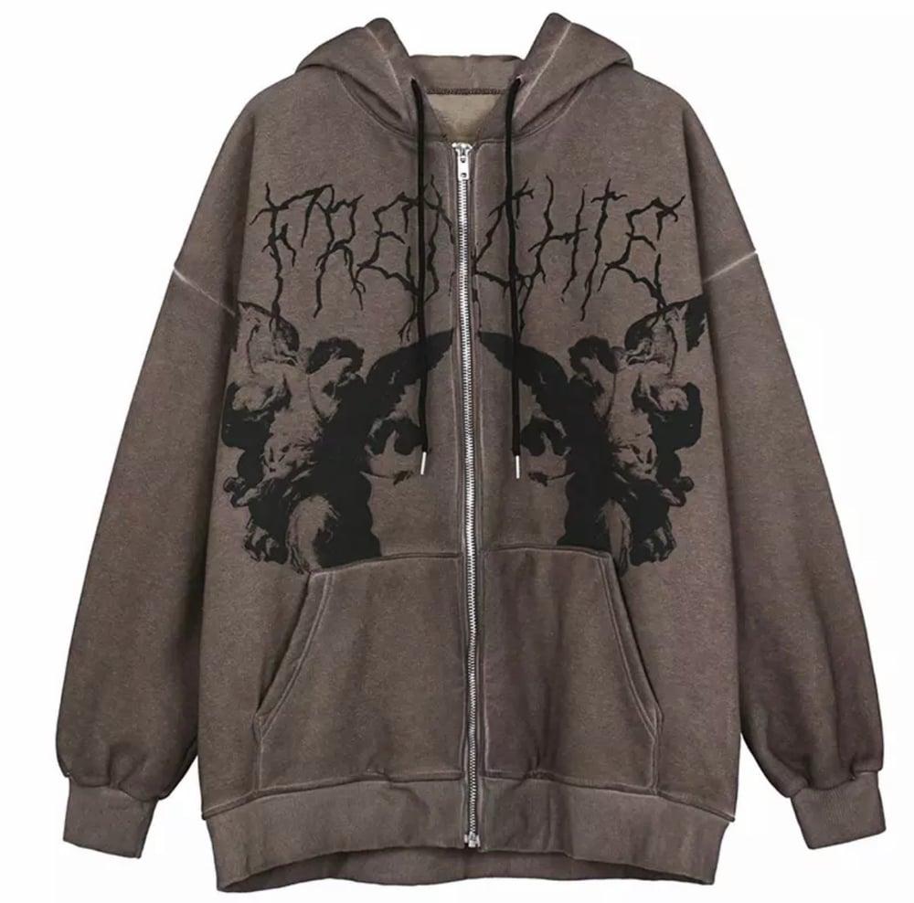Image of Dark Angel Zip Up Jacket