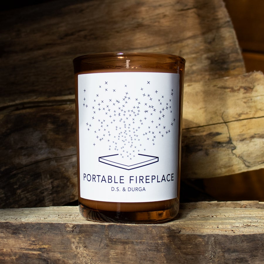 Image of The Portable Fireplace Candle by D.S.& Durga