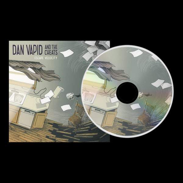 "Image of Pre-Order CD: Dan Vapid and the Cheats ""Escape Velocity"""