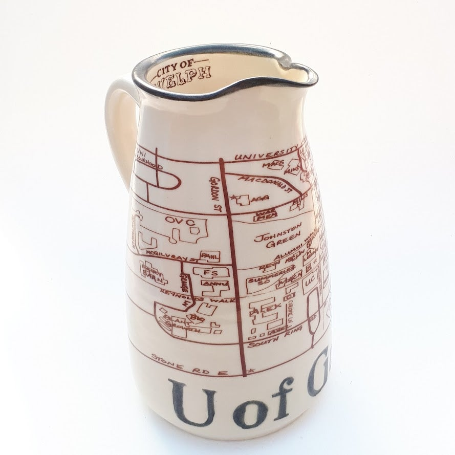 Image of U of Guelph Serving Pitcher by Bunny Safari